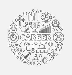 modern career vector image