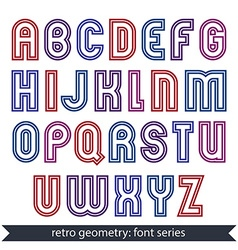 Poster elegant stripy typeset best for advertising vector
