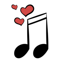 Wedding music icon cartoon vector