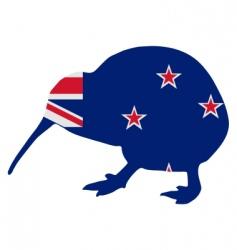New Zealand Kiwi vector image