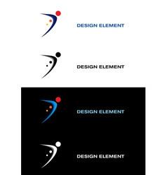 logo sport vector image