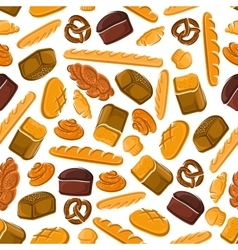 Bakery and patisserie seamless pattern background vector