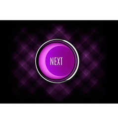 Next Button vector image vector image
