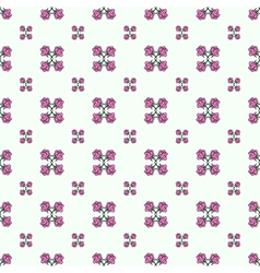 rose seamless1 vector image vector image