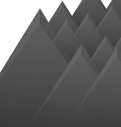 Mountains isolated vector