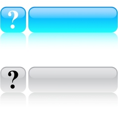 Help square button vector image