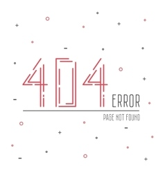 404 error connection vector