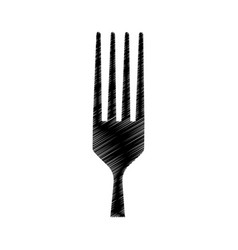 Kitchen cutlery isolated icon vector
