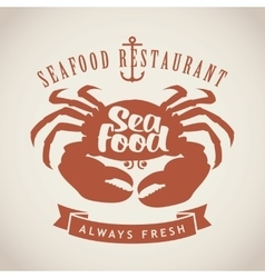 Restaurants or seafood shops vector