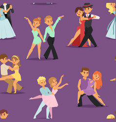 Couples dancing romantic person people dance man vector