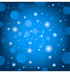 circular effects blue background vector image