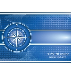 compass background vector image