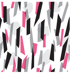 Abstract colorful stripes seamless pattern vector