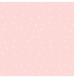 Hand drawn seamless pink micro dot texture vector