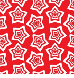 Seamless wallpaper repetitive print with stars vector image