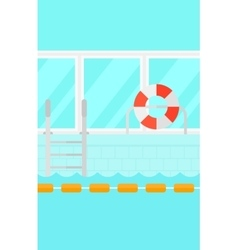 Background of swimming pool vector image vector image