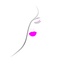 beauty icon vector image vector image