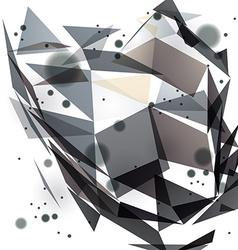 Geometric backround vector