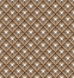 Seamless geometric pattern with rhombus vector image vector image