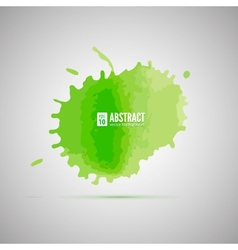 Watercolor background abstract shape vector