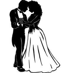 Mg00046 prom couple vector
