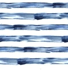 Dark Blue Abstract Watercolor Seamless vector image