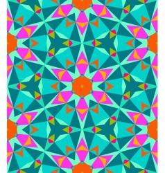 Multicolor geometric pattern in bright color vector image vector image