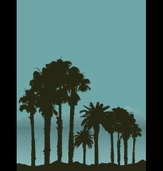 tropical landscape 2404 vector image