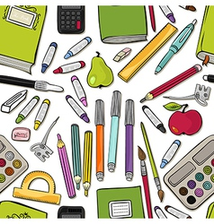 School stationery vector