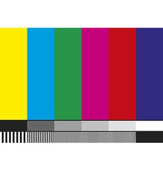 Tv pattern vector