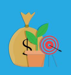 Financial target vector