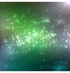 Multicolored sparkling background with glowing vector