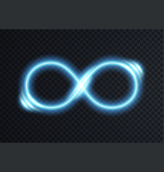 Infinite shining symbol vector