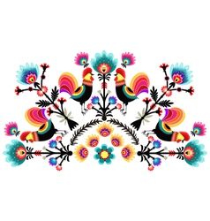 Folk pattern vector