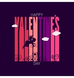 Valentines day design background vector