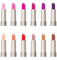 Lipsticks vector image