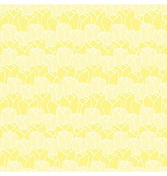 Floral pattern with tulips floral patternseamless vector