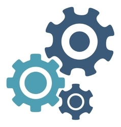 Mechanism icon vector