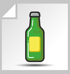 Beer icons 2 vector