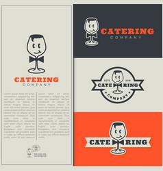 Catering logo vector