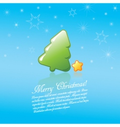 Christmas illustration vector image vector image