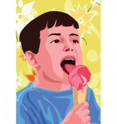 ice-cream vector image vector image