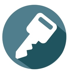 Key and password icon vector