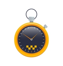 taxi stopwatch icon vector image vector image