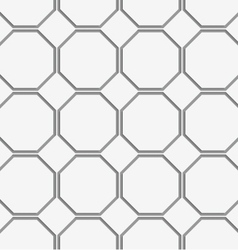 Perforated octagons in row vector