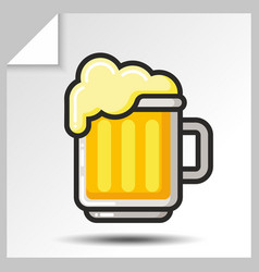 Beer icons 3 vector