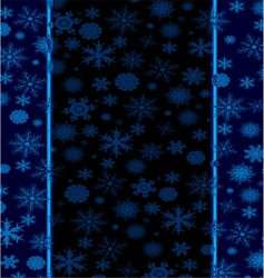 Christmas flaked stripe vector image