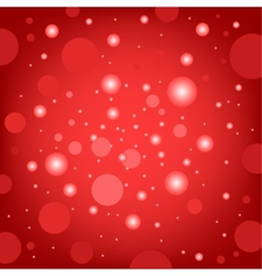 circular effects red background vector image