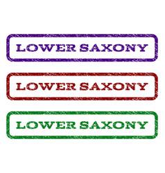 Lower saxony watermark stamp vector