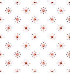 Virus or bacteria pattern vector